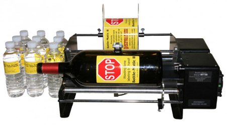 Dispensa-Matic Bottle Labeler