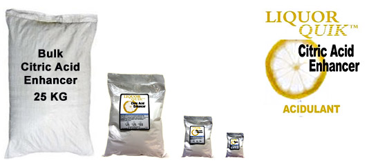 Citric Acid Enhancer